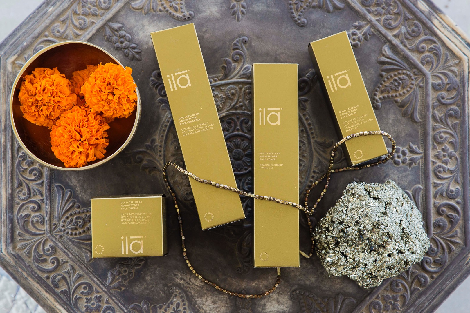 Exclusive brands of Serenity Spa