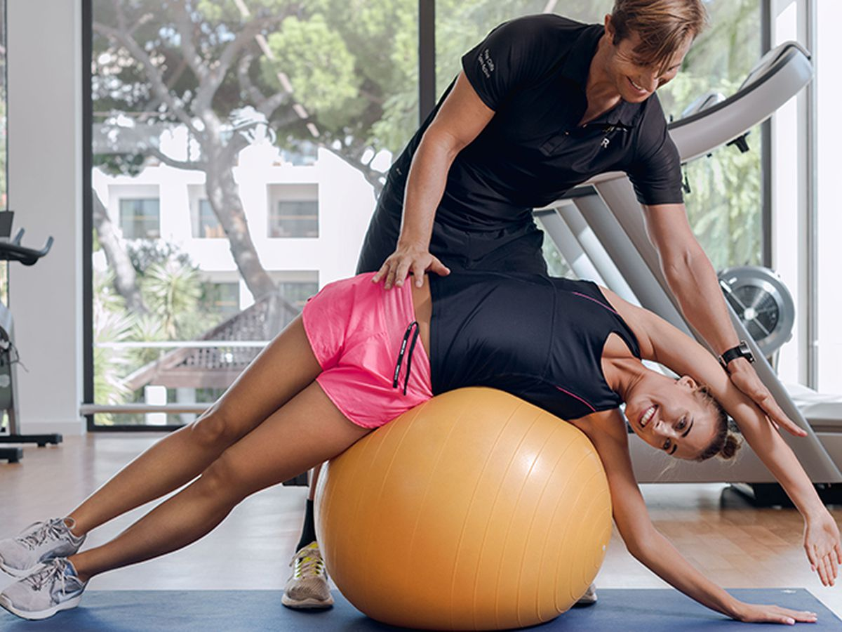 Personal trainer of Pine Cliffs Goes Active