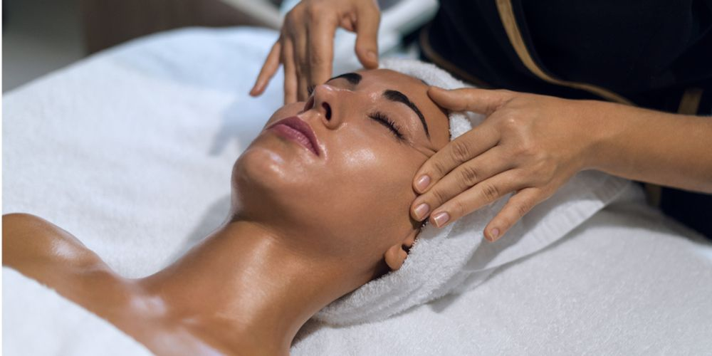 Signature treatment with sea view